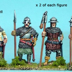 Men with Polearms IV
