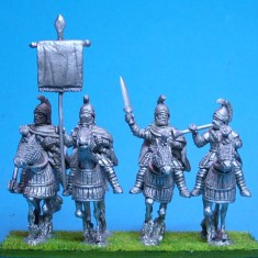 Agema Cataphracts Half Barding Command