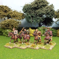 28mm pictish light cavalry