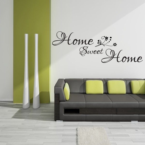 home sweet home wall sticker stopgraphicsshop wall decals wall home sweet home wall sticker decals