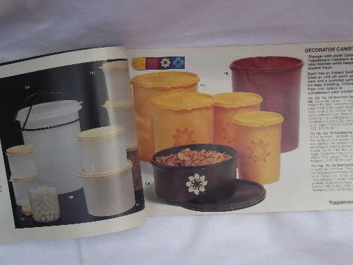 Modern Lighting 70s - 80s Vintage Tupperware Catalog, 48 Pages, Retro