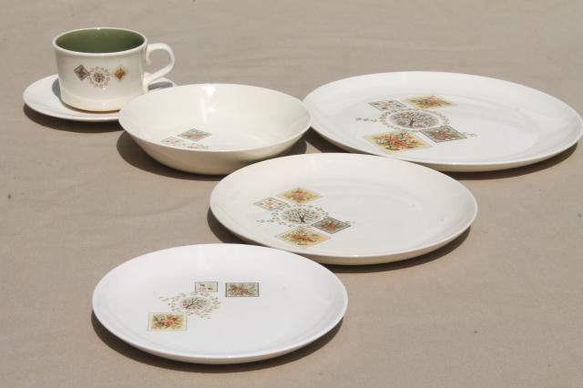 Ideid ... & French Country Dinner Plates - Castrophotos