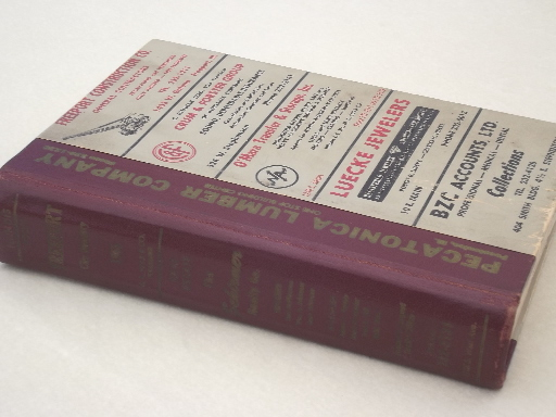 Freeport Illinois phone book / business directory, 1965 vintage - business phone book