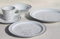 Noritake Woodstock pattern dinnerware set for 4, vintage ...