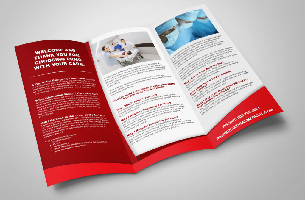 PRMC Emergency Services Brochure u2013 1st Street Media - services brochure