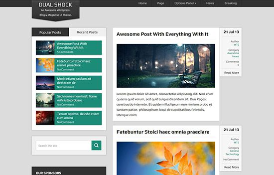 The 50 Best Free WordPress Themes - best free wordpress templates