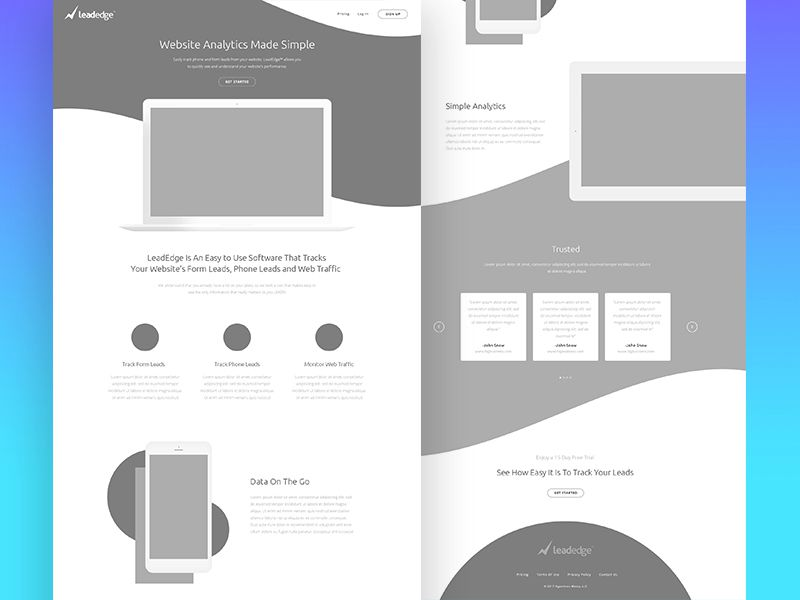 10 Beautiful Examples of Wireframes in Web Design - 1stWebDesigner