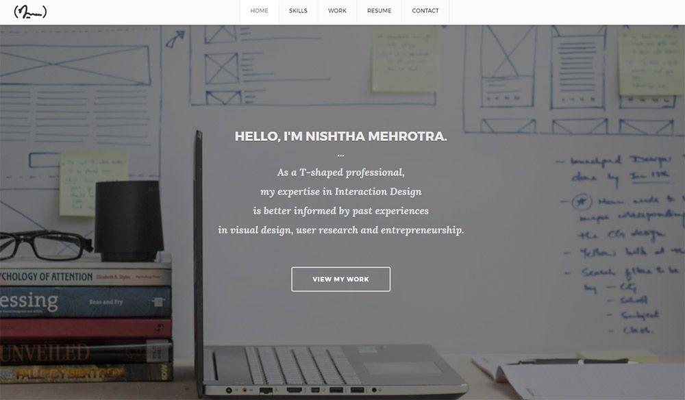 12 Incredible UX Designer Portfolio Sites - 1stWebDesigner