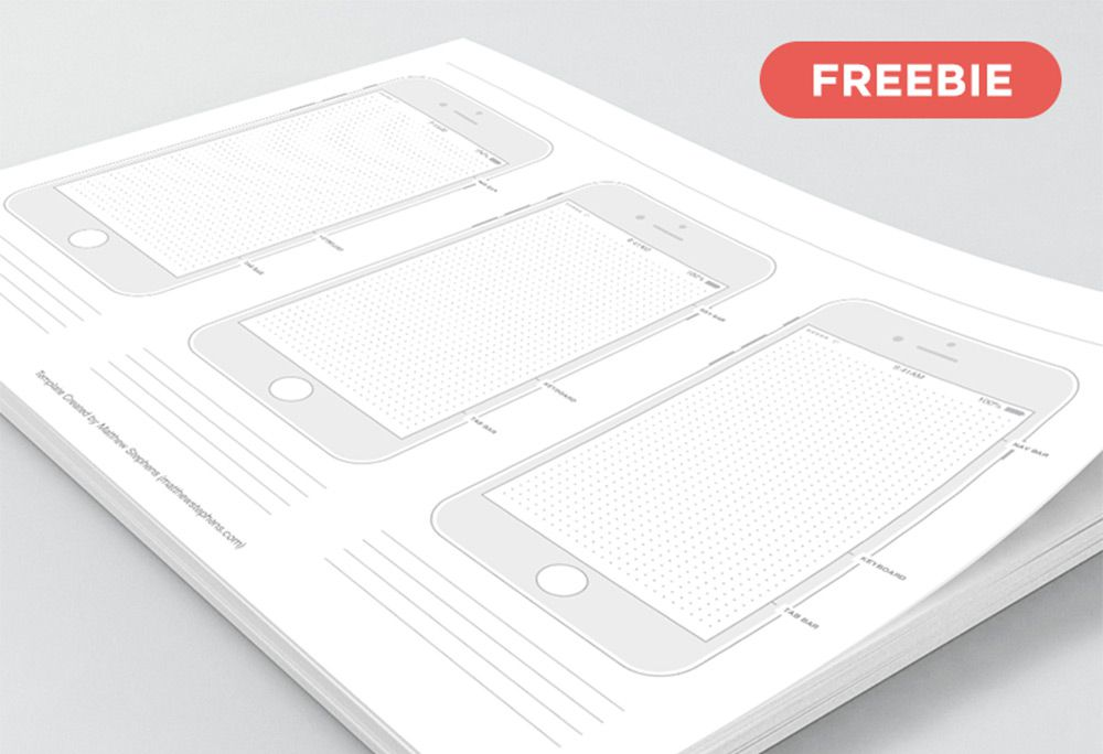 Collection of Free Printable UI/UX Templates - 1stWebDesigner