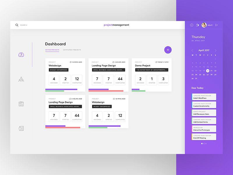 10 Beautifully Designed Admin Dashboard Layouts - 1stWebDesigner - dashboard design inspiration