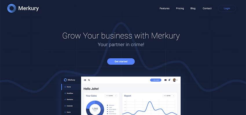 10 Free Website PSD Template and Mockup Resources - 1stWebDesigner