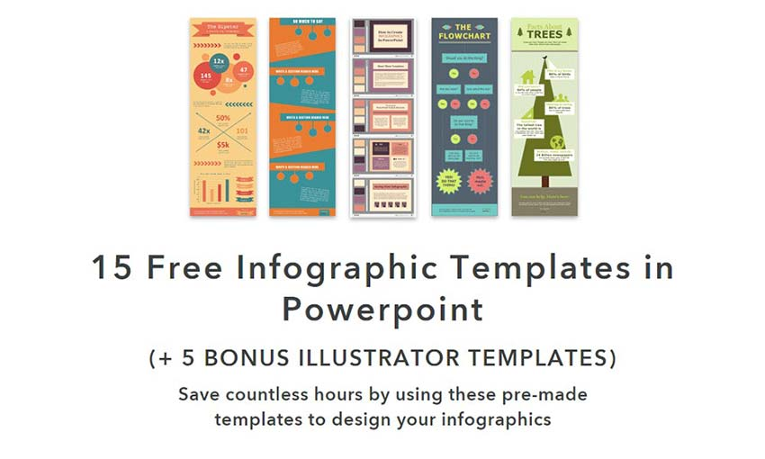 10 Free Infographic Templates for Web Designers - 1stWebDesigner