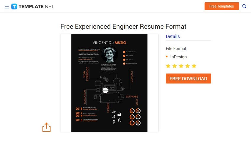 Stand Out with These Free Resume Templates - 1stWebDesigner