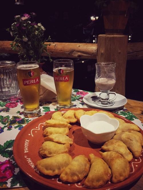 Polnische Nationalküche in Zakopane, Pierogi