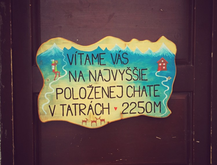 Hütte, Chata pod Rysmi, Hohe Tatra Rysy