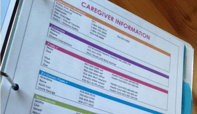 Make Caregiving Easier with a Caregiver Notebook Template - DailyCaring