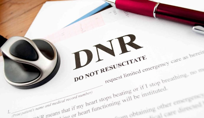 What is a DNR and Why Would Seniors Need One? - DailyCaring - dnr medical form