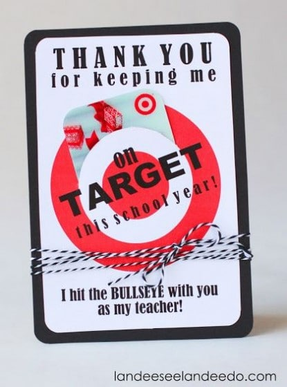 Teacher Gift Card Ideas  Gift Card Holder Printables - Fabulessly