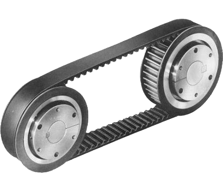 machining timing belt pulley