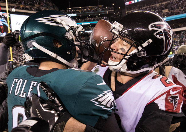 Eagles vs Falcons Preview A January Redux? Crossing Broad