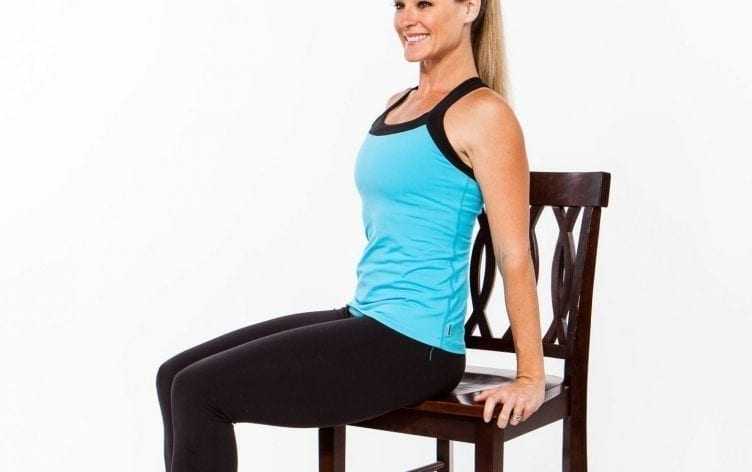 20 Minute Full Body Chair Workout Myfitnesspal