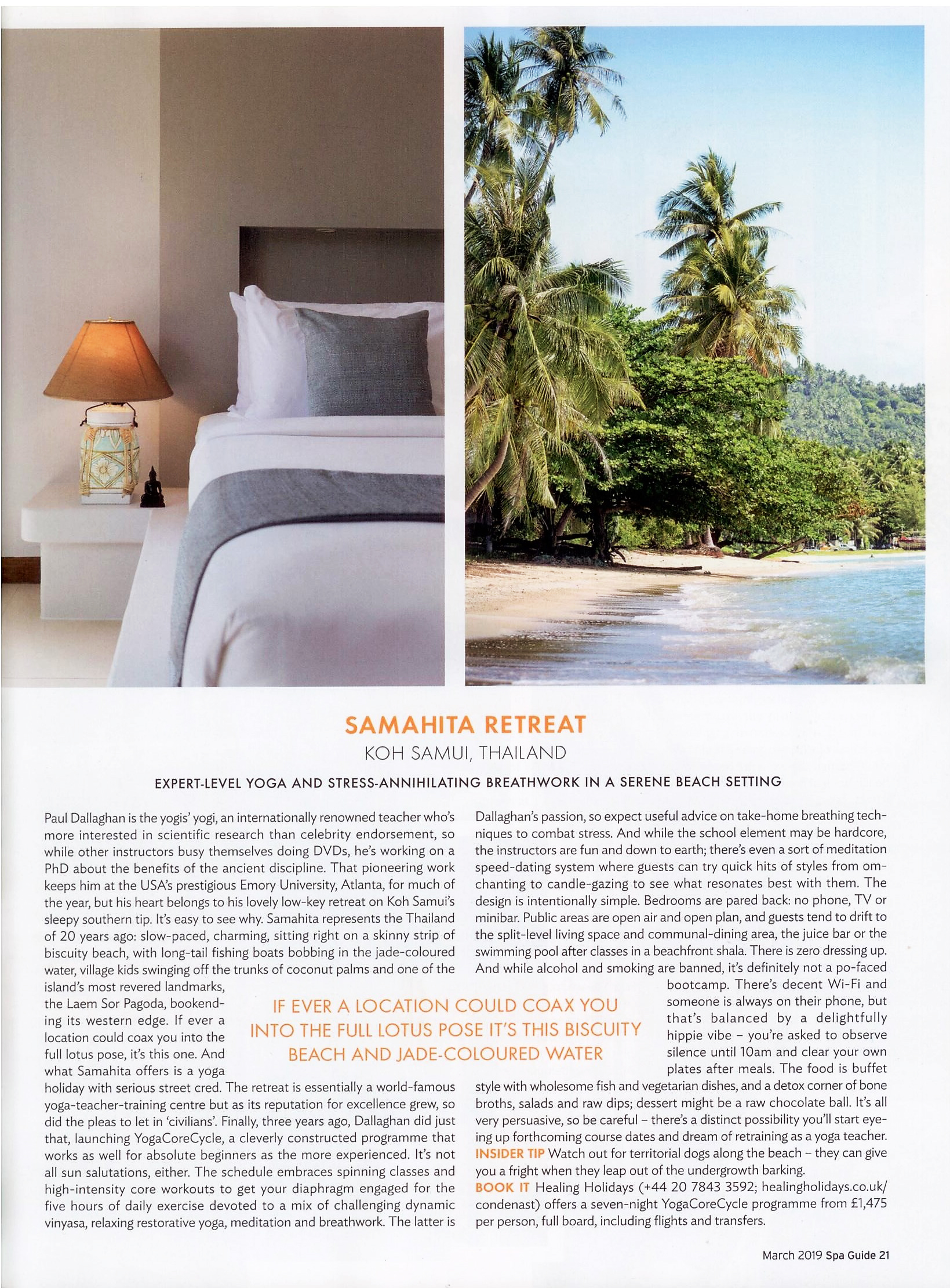 Lounge Insel Atlanta Media Reviews Samahita Retreat