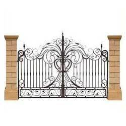 3d Wallpaper In Ludhiana Wrought Iron Gates Wrought Iron Gate Manufacturers