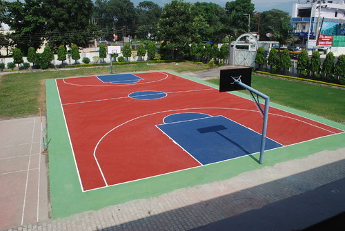 Synthetic Outdoor Basketball Court Flooring At Rs 38