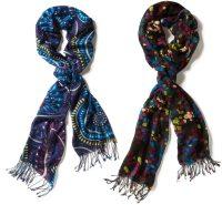 Oblong Scarf,Designer Oblong Scarf,Silk Printed Oblong ...