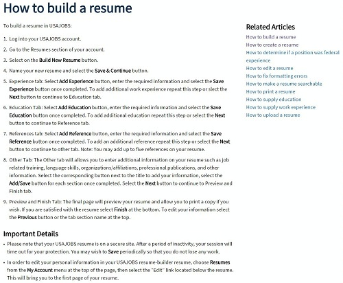 How To Apply - the resume center