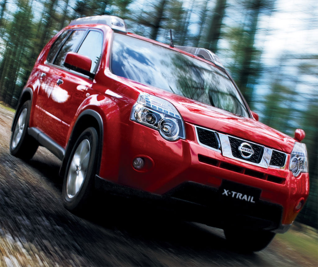 Four Cars Wallpapers Nissan X Trail Nissan Cars