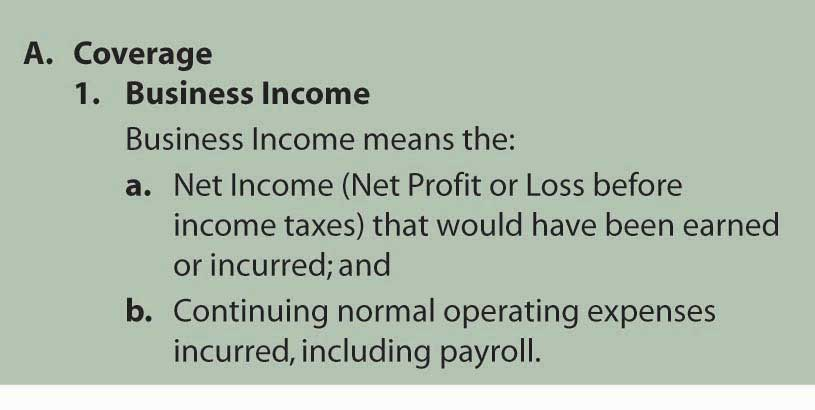 income and expense