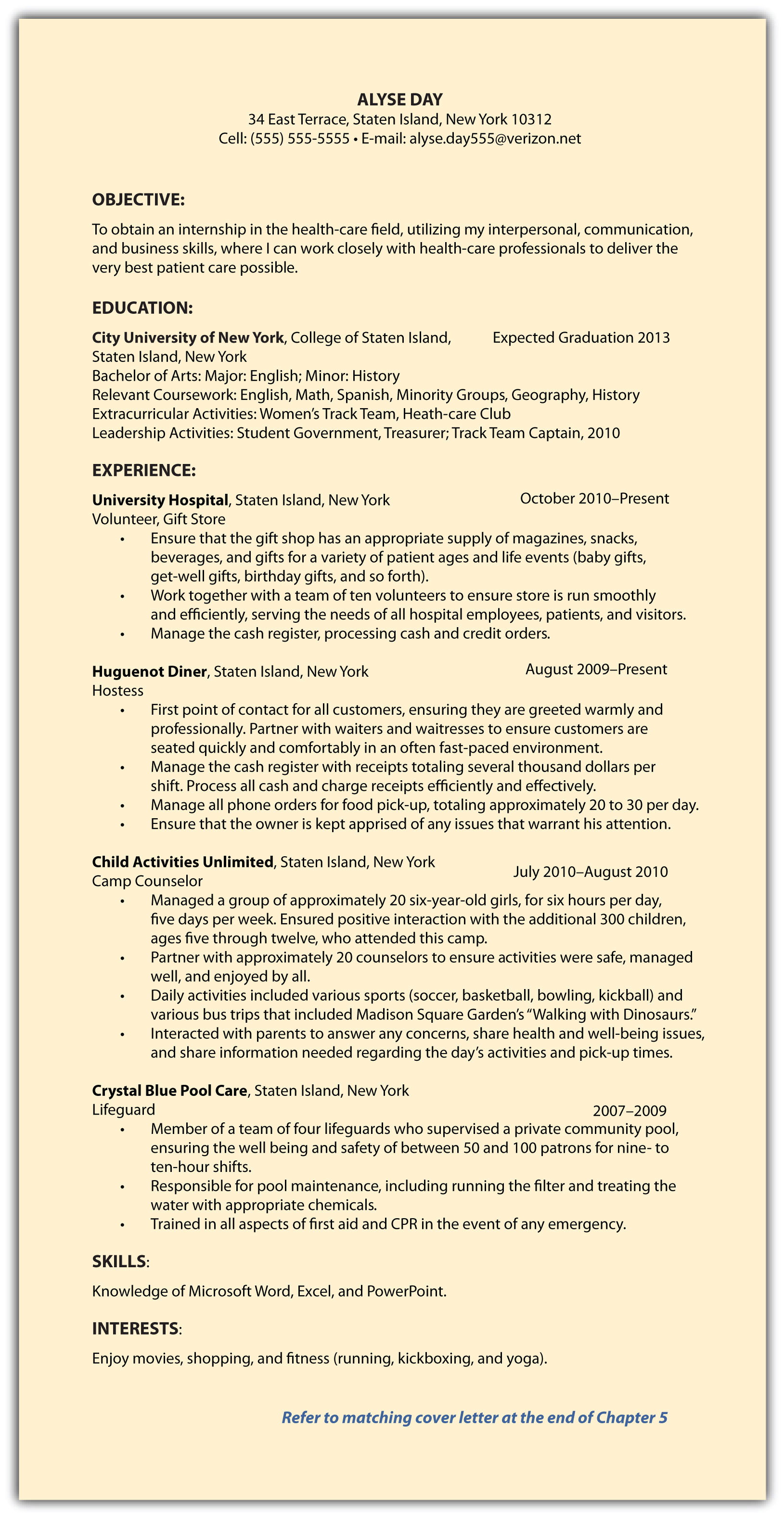 post resume job search