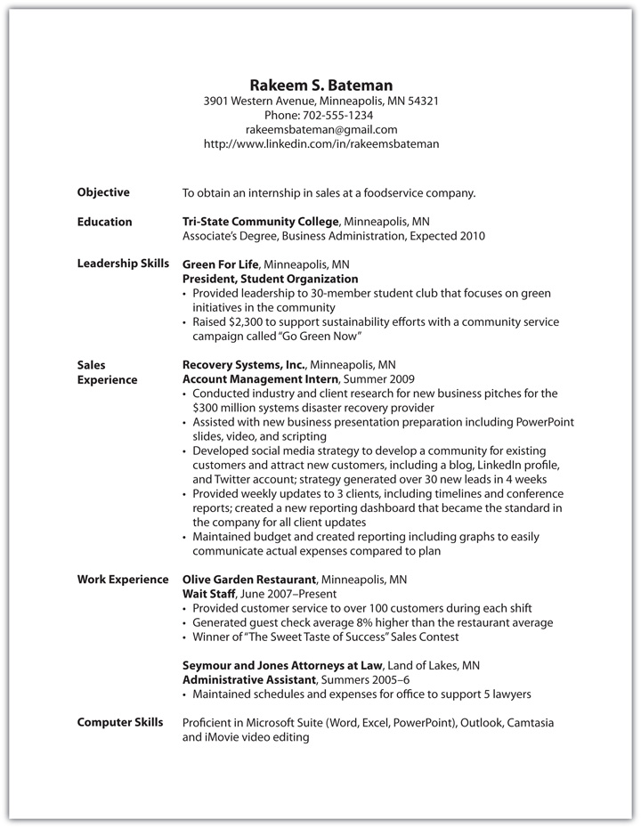 things to put under skills on a resume