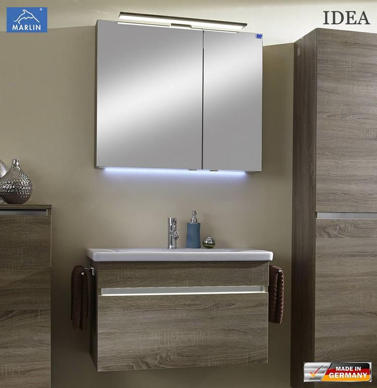 Badezimmer Set Mit Waschbecken Badezimmermobel Unterschrank