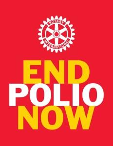 Rotary End Polio Now Logo