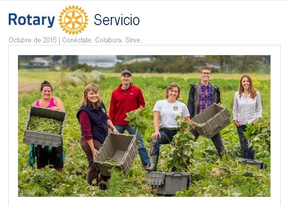 Boletín de Servico en Rotary