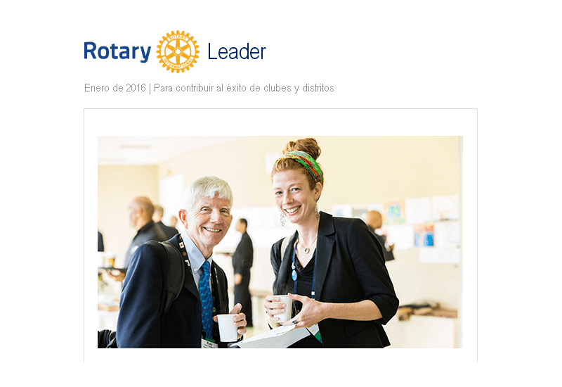 Rotary Leader