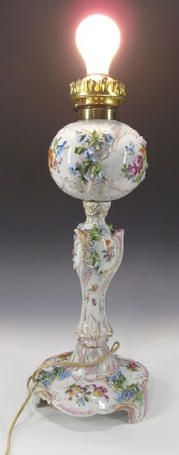 Antique c 1899 German Carl Thieme Dresden Meissen Era ...