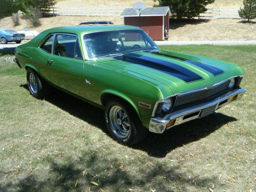 Vehicle Manufacturers In California Purchase Used 1971 Chevrolet Nova Base Coupe 2 Door In