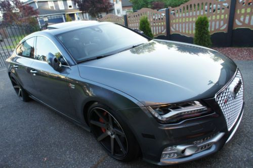 Bad Led Headlights Buy Used 2014 Audi A7 S-line Custom, 20 Wheels, Rs7 Grille