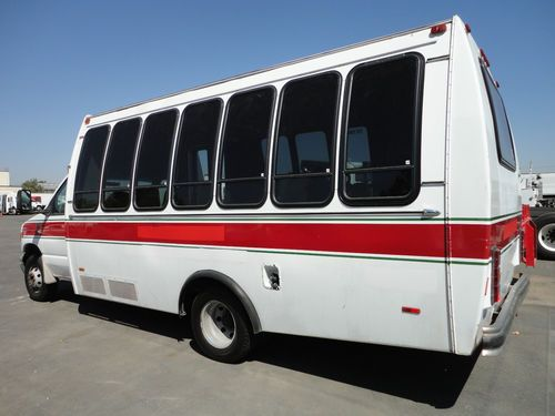 Vehicle Manufacturers In California Buy Used 1998 Ford Shuttle Bus 12 Passenger Handicap Lift