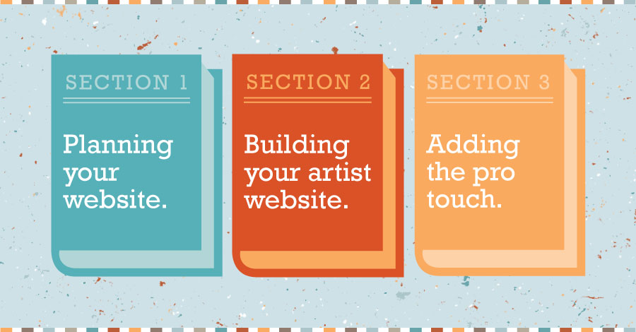 Create your own artist website - TextileArtistorg