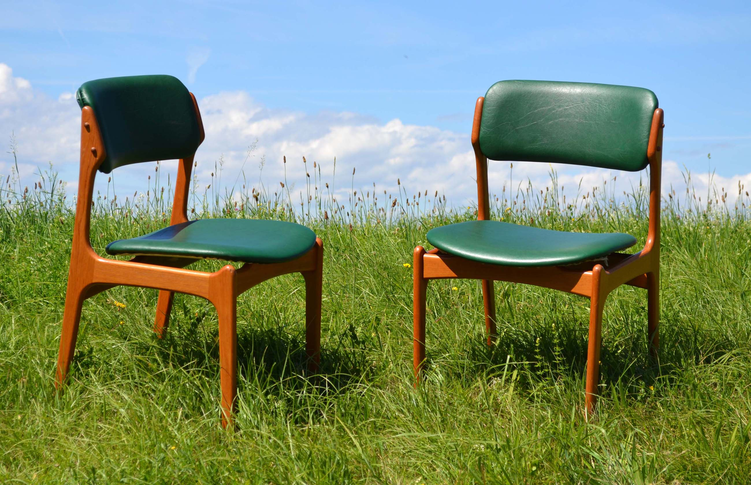 Chaises Scandinaves Vintage Mobilier Design Vintage Scandinave Chaises Et Meubles En