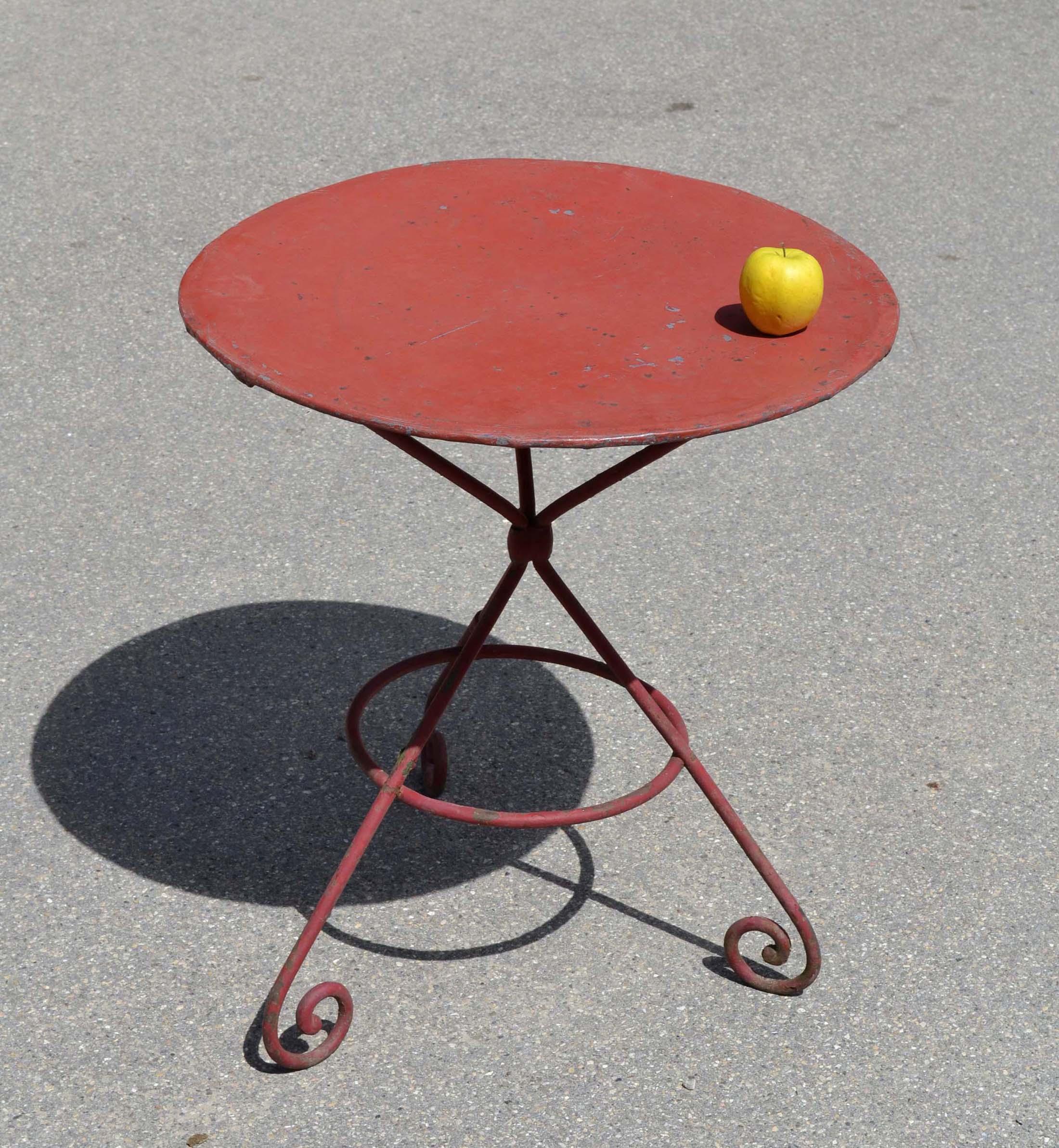 Petite Table Ronde Jardin | Petite Table Et Chaise De Jardin Salon ...