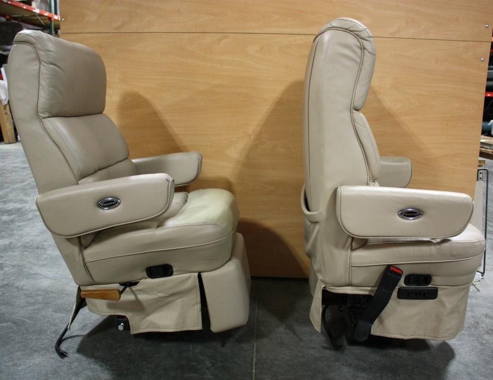 Rv Furniture Used Motorhome Set Of 2 Flexsteel Captain