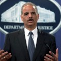 DOJ head Holder is 'holding' Zimmerman's gun
