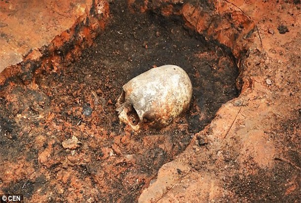RUSSIAN ANCIENT ALIENS: 2000 Year Old Skeleton With Coned Skull Discovered