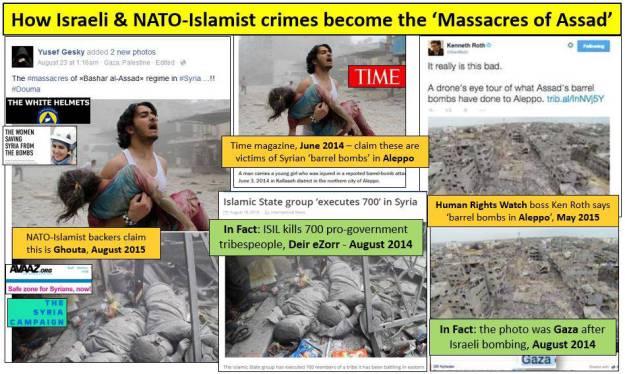 Αποτέλεσμα εικόνας για ghouta syria fake news fake photo