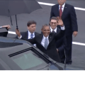 President Obama Arrives in Cuba